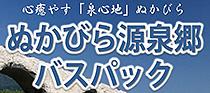 ぬかびら源泉郷バスパック通年