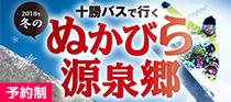 十勝バスで行く2018年冬のぬかびら源泉郷